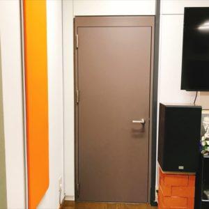 防音間仕切り用防音ドア