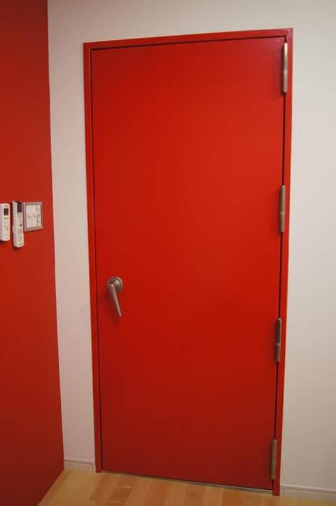 防音ドア「GuardianI Dr45」ハンドル:オプションA 耐震丁番 塗装仕上