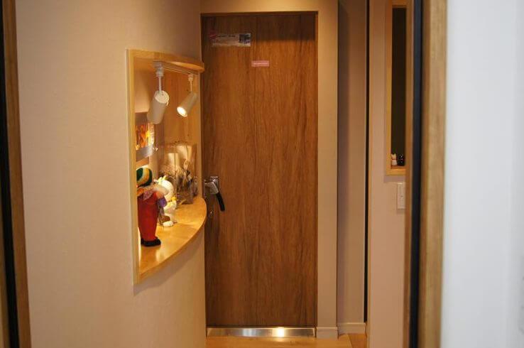 防音ドア「GuardianI」Dr45 鍵付 シート仕上