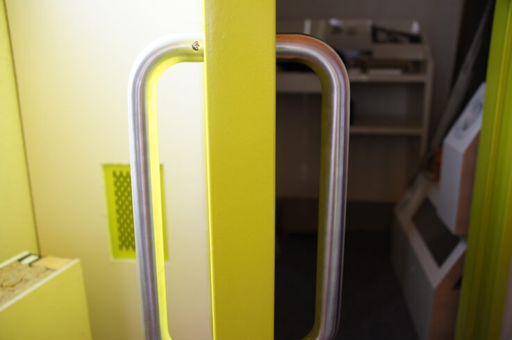 防音ドアguardian2-標準ハンドル:色シルバー